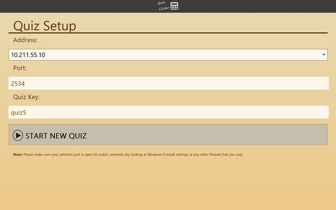 Quiz Clicker screen shot 0