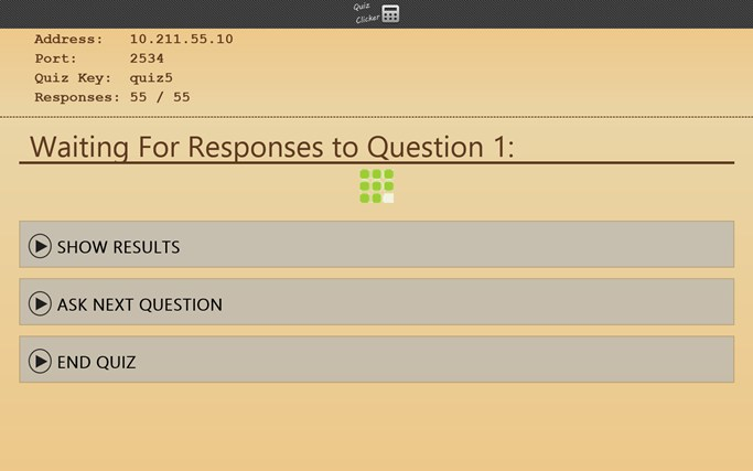 Quiz Clicker screen shot 4