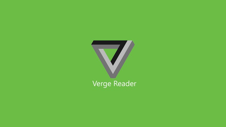 Verge Reader screen shot 0