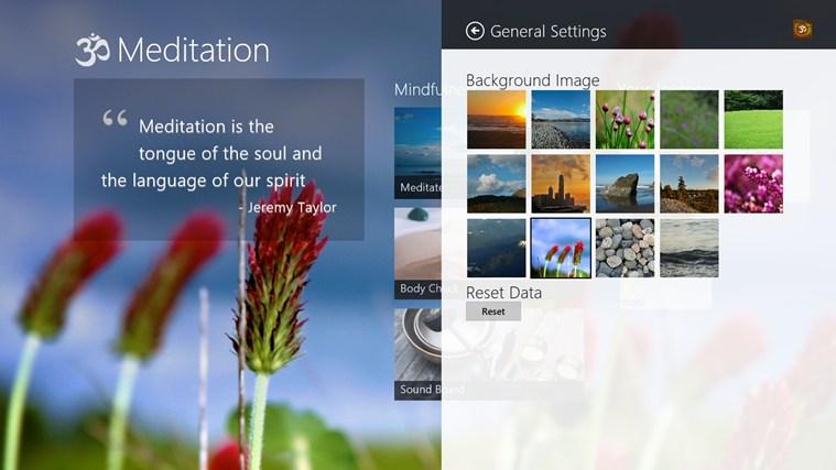 Om Meditation full screenshot