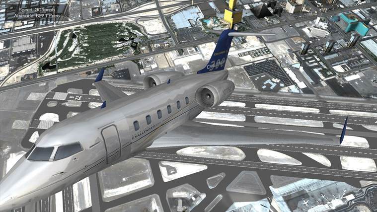 Flight Unlimited Las Vegas screen shot 4