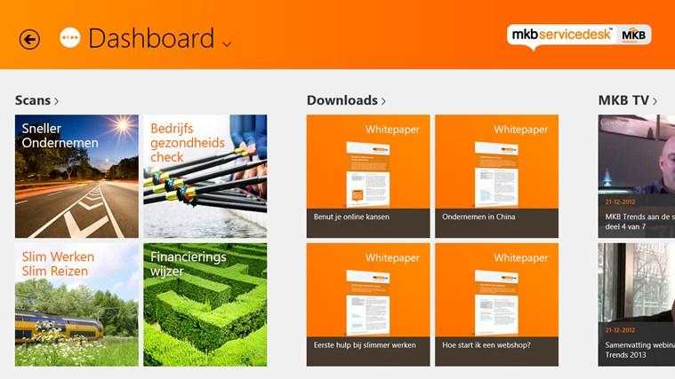 MKB Servicedesk schermafbeelding 0