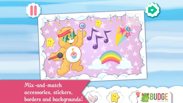 Care Bears - Create & Share! screen shot 2