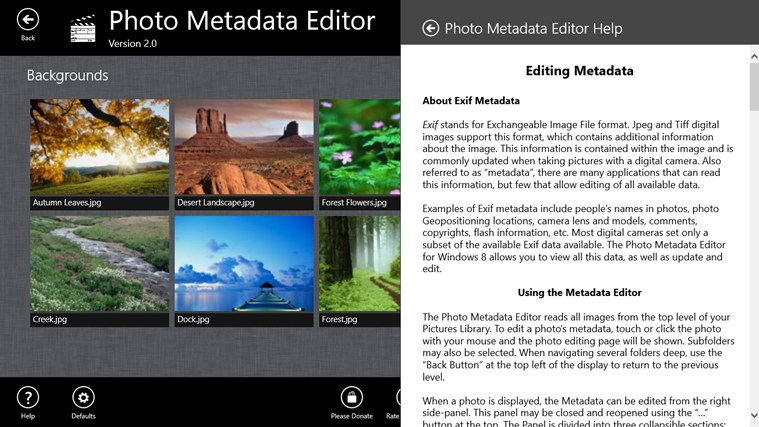 Photo Metadata Editor screenshot 8