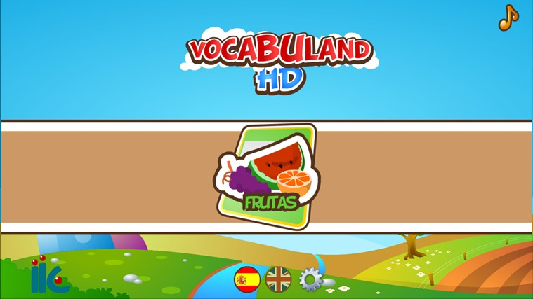 VocabulandHD screen shot 0