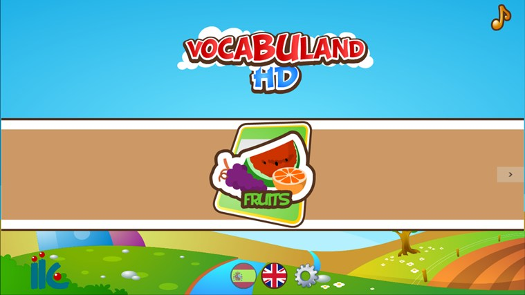 VocabulandHD screen shot 2