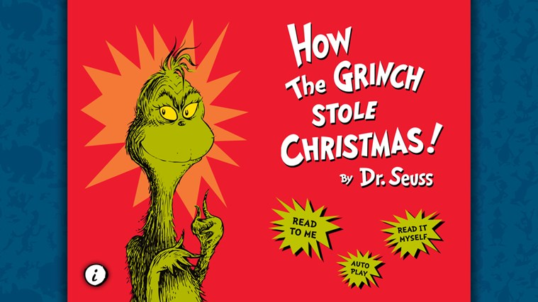 How the Grinch Stole Christmas! - Dr. Seuss screen shot 0