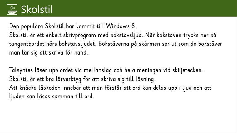Skolstil screen shot 0