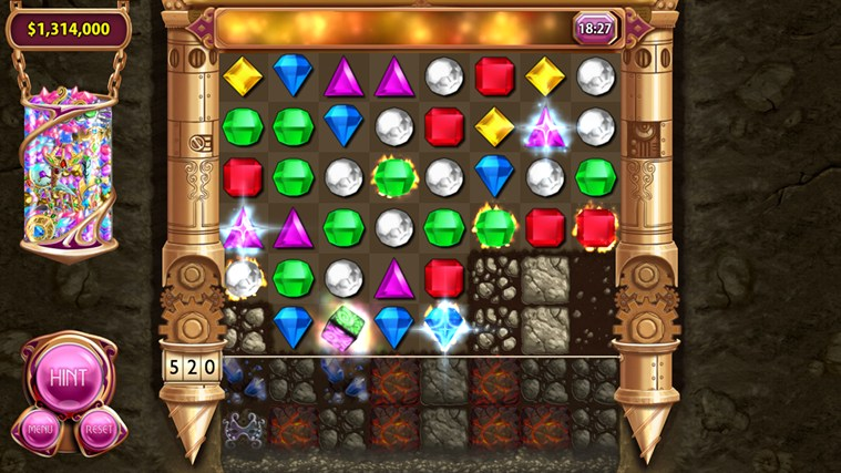 Bejeweled LIVE screen shot 2