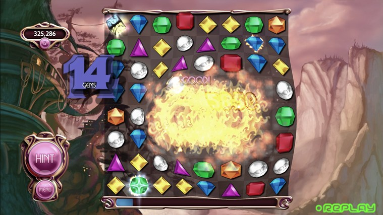 Bejeweled LIVE screen shot 4