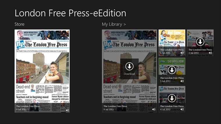 London Free Press-eEdition screen shot 0