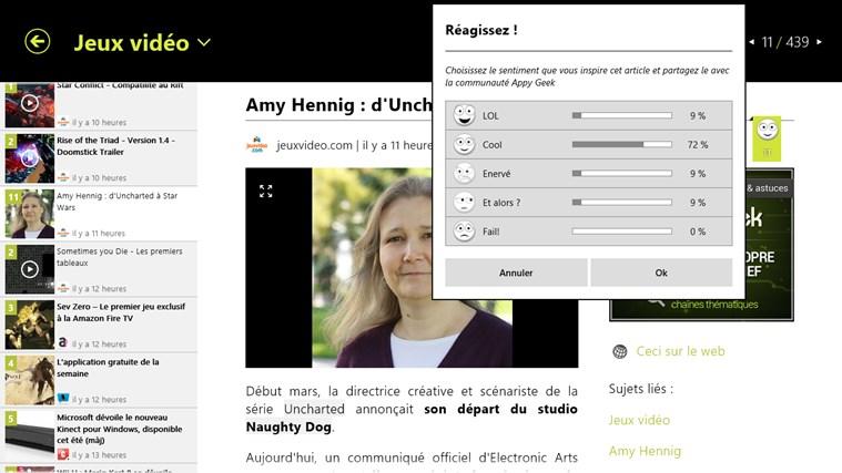 Appy Geek capture d'écran 4