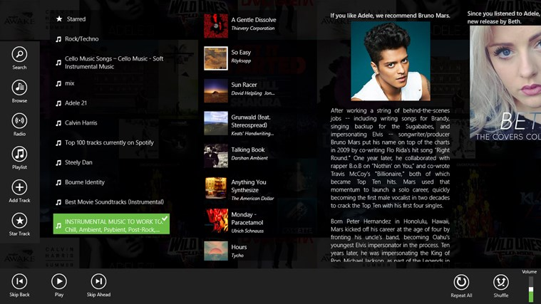 Spotlite - Listen to Spotify screen shot 0