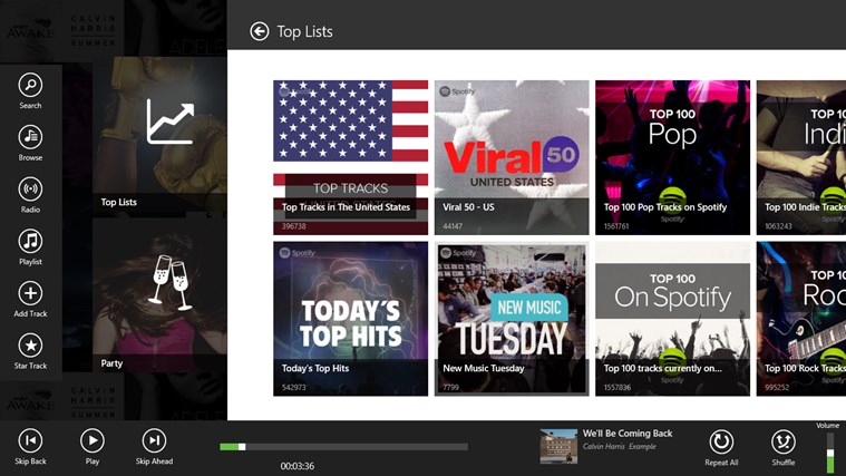 Spotlite - Listen to Spotify screen shot 2