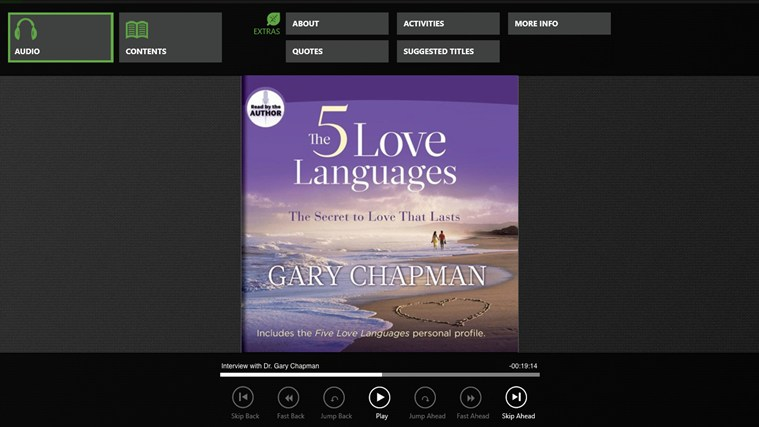 The Five Love Languages (Gary Chapman) screen shot 0