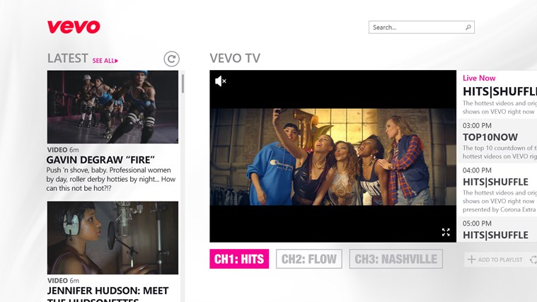 VEVO screen shot 0