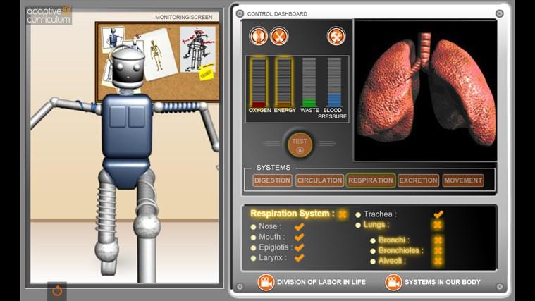 AC Life Science: Human Body Systems snímek obrazovky 2
