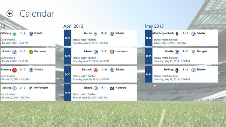 Schalke ClevFoot captura de ecrã 6