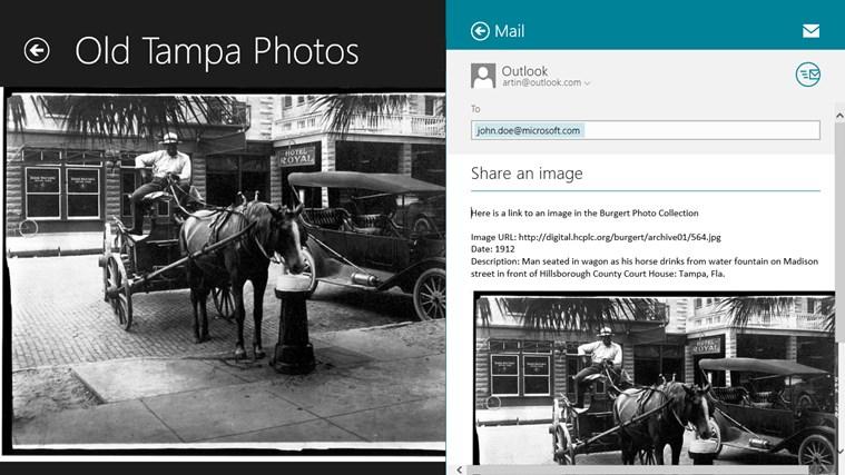 Old Tampa Photos screen shot 2