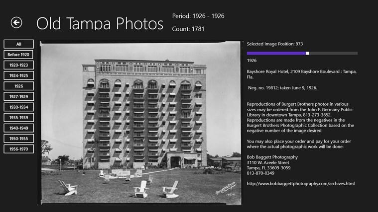 Old Tampa Photos screen shot 6