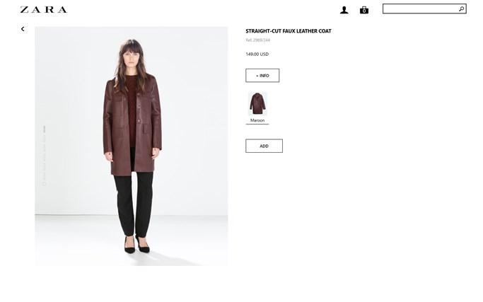Zara screen shot 4