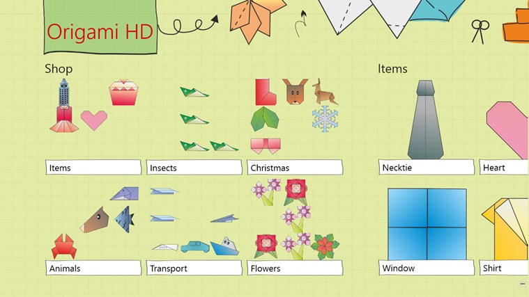 Origami HD screen shot 0