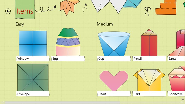 Origami HD screen shot 2