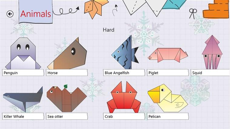 Origami HD screen shot 4