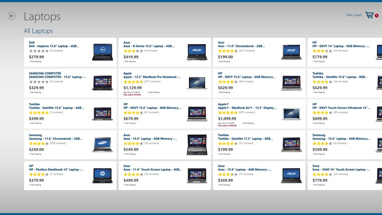 Best Buy screen shot 2