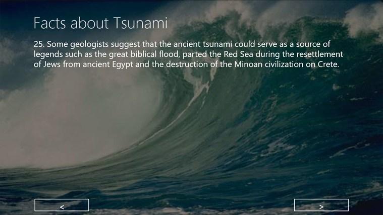 Tsunami facts video