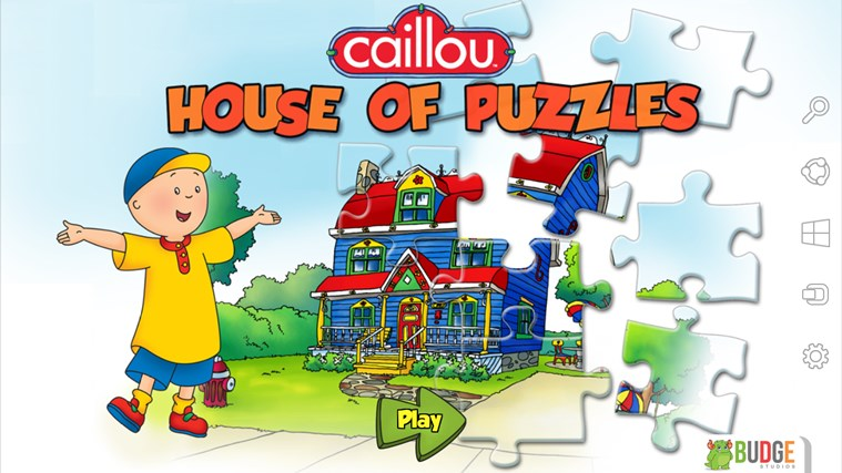 Caillou House of Puzzles screen shot 0