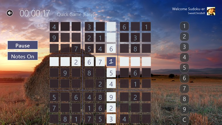Sudoku Pro Free screen shot 4