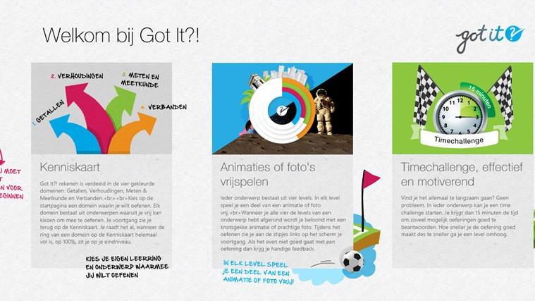 Got It?! Rekenen schermafbeelding 0