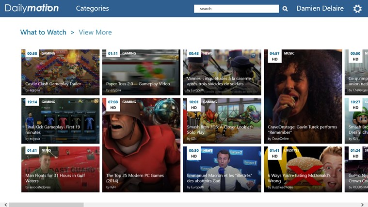 Dailymotion capture d'écran 0