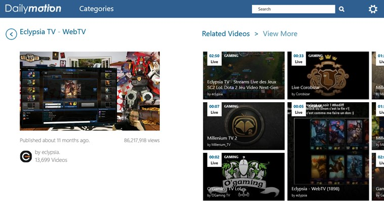 Dailymotion capture d'écran 6