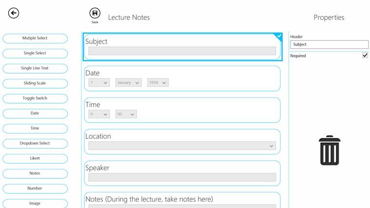 Smart Forms 365 screen shot 2