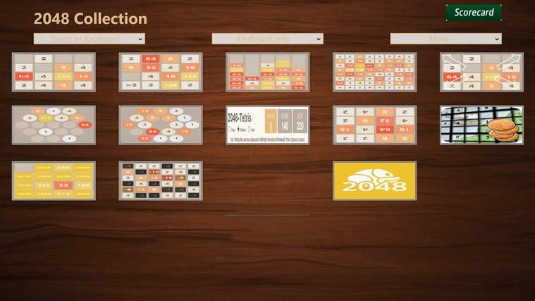 2048 Collection. screen shot 0