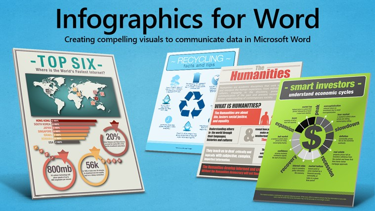 Infographics templates for publisher