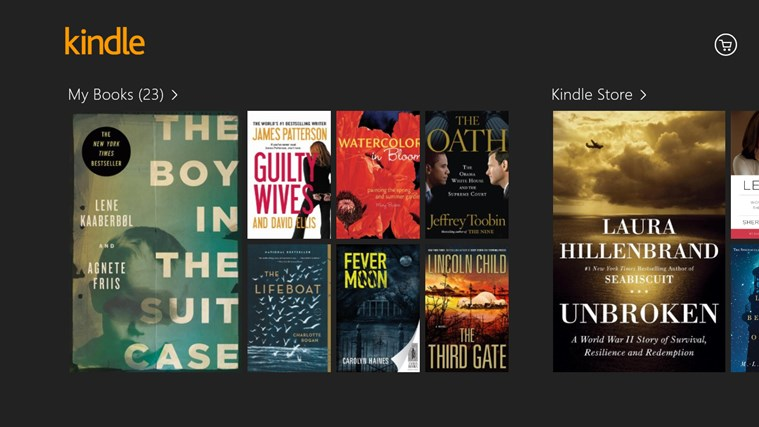 Kindle screen shot 0