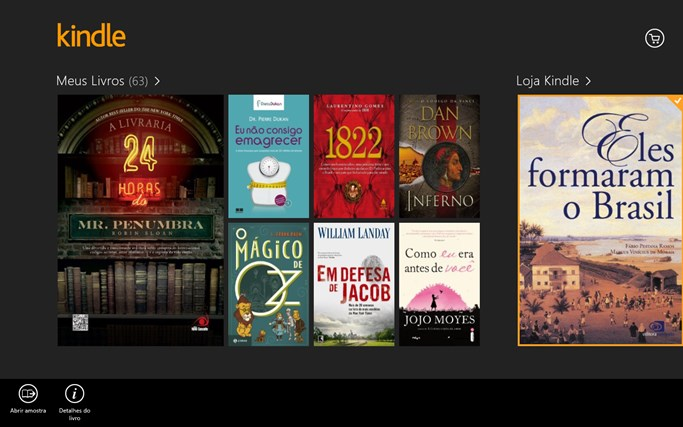 Kindle captura de tela 8