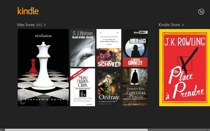 Kindle capture d'écran 0