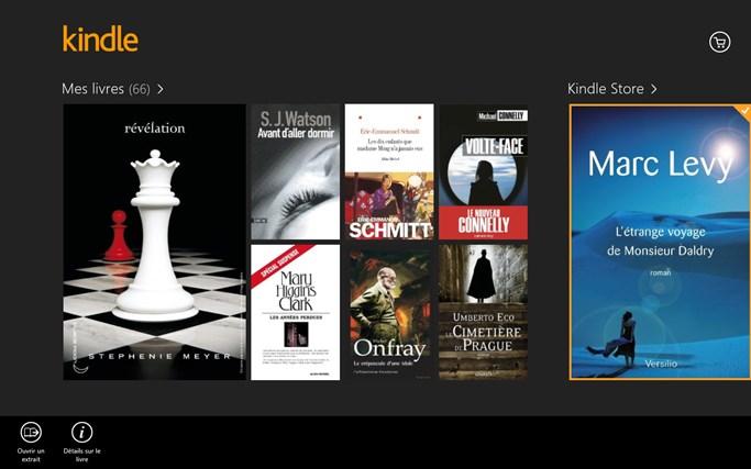 Kindle capture d'écran 8