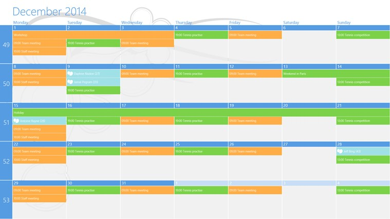 OneCalendar screen shot 0