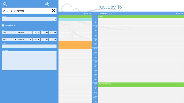 OneCalendar screen shot 4