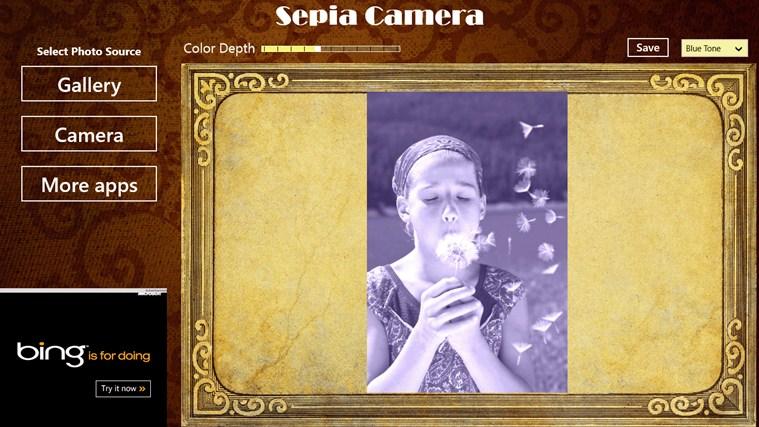 Sepia Camera  full