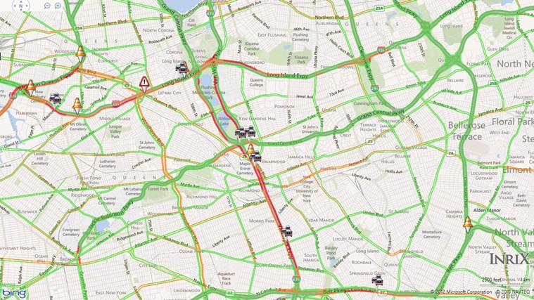 INRIX Traffic screen shot 4