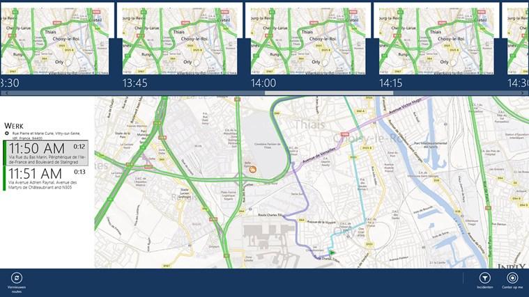 INRIX Traffic schermafbeelding 0