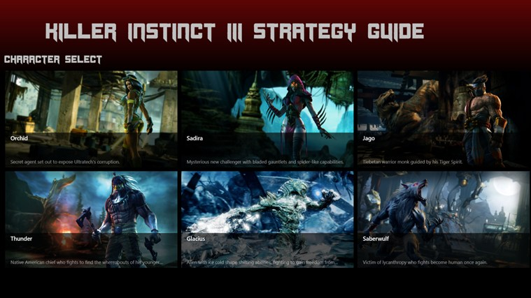 Killer Instinct III Strategy Guide screen shot 0