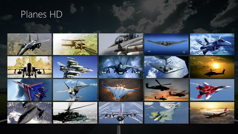 Planes HD full screenshot