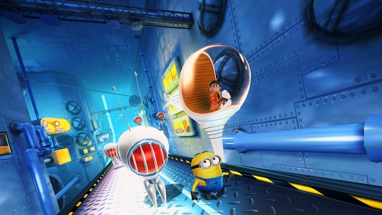 Despicable Me: Minion Rush-skärmbild 4
